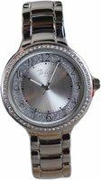 Di Lusso dames horloge - Zilver met diamantjes