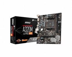 MB MSI A320M-A PRO MAX / AM4 / 1x PCI-E / m.2 / mATX