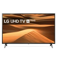 TV LG 49Inch 4K Ultra HD Smart TV Wi-Fi Zwart