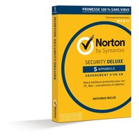 Symantec Norton Security Deluxe 3.0 Base license 5gebruiker(s) 1jaar Frans