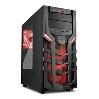 Sharkoon Case DG7000 / ATX / USB 3.0 / RED