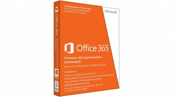 Microsoft Office 365 Home Premium 1 Jaar EU (PL)