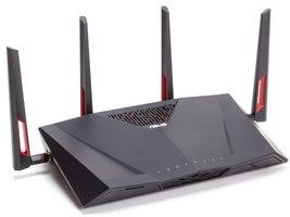 ASUS RT-AC88U Dual-band (2.4 GHz / 5 GHz) Gigabit Ethernet Zwart draadloze router