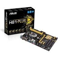 Asus H81M-K / 1150  / SATA-3 / USB3.0 / DVI / mATX moederbord