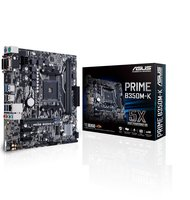 ASUS Prime B350M-K AMD B350 Socket AM4 Mini-ATX moederbord