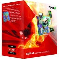 AMD A4-6300 Dual Core / 3.7GHz-3.9GHz / FM2 / 65W / BOX