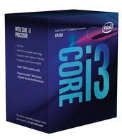 Intel Core i3-8100 processor 3,6 GHz Box 6 MB Smart Cache