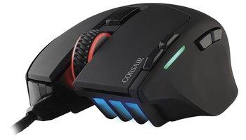 Corsair CH-9303011-EU USB Optisch 10000DPI Rechtshandig Zwart muis