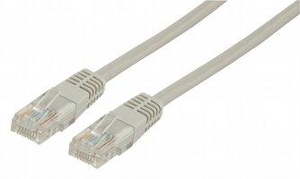 Ewent EW9520 0.9m Cat5e U/UTP (UTP) Ivoor netwerkkabel