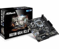Asrock H81M-VG4 R3.0 Intel H81 Socket H3 (LGA 1150) Micro ATX moederbord
