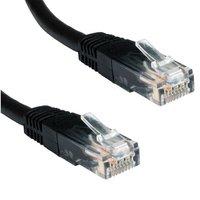 Ewent 2.0m Cat5e UTP 2m Cat5e U/UTP (UTP) Zwart netwerkkabel