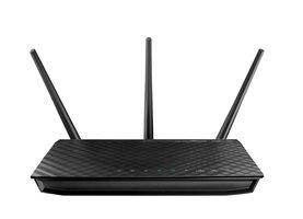 ASUS RT-N66U C1 Dual-band (2.4 GHz / 5 GHz) Gigabit Ethernet Zwart draadloze router