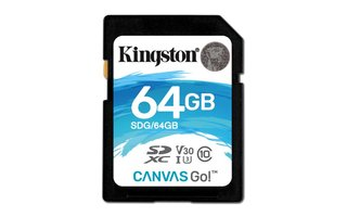 Kingston Technology Canvas Go! flashgeheugen 64 GB SDXC Klasse 10 UHS-I