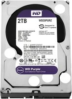 Western Digital Purple HDD 2000GB SATA III interne harde schijf