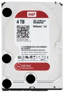Western Digital Red interne harde schijf HDD 4000 GB SATA III