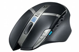 Logitech G602 muis RF Wireless Laser 2500 DPI Right-hand Black