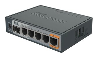 Mikrotik Ethernet LAN Router hEX S 5x 1Gbps switch