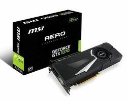 MSI V330-011R GeForce GTX 1070 8GB GDDR5 videokaart