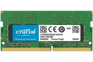 Crucial 16GB DDR4 geheugenmodule 2400 MHz