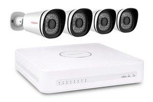 Foscam FN3108XE-B4-1T bewakingscamera IP-beveiligingscamera Binnen & buiten Rond Wit 1280 x 720 Pixels