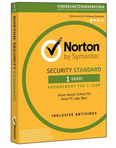 Symantec Norton Security Standard 3.0 Full license 1gebruiker(s) 1jaar Duits