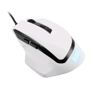 Sharkoon SHARK Force USB Optisch 1600DPI Rechtshandig Wit muis
