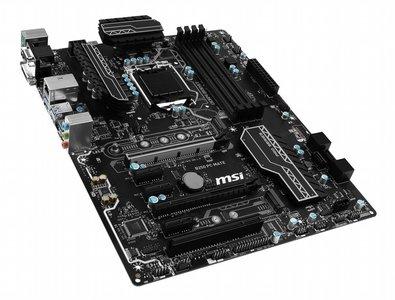 MSI B250 PC MATE Intel B250 LGA 1151 (Socket H4) ATX moederbord