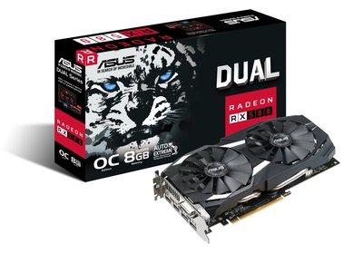 ASUS DUAL-RX580-O8G Radeon RX 580 8GB GDDR5