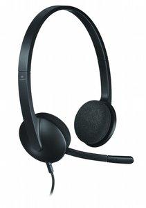 Logitech H340 Stereofonisch Hoofdband Zwart hoofdtelefoon