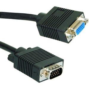 Ewent 1.8m VGA 1.8m VGA (D-Sub) VGA (D-Sub) Zwart VGA kabel