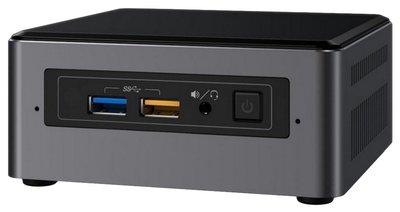 Intel NUC7I5BNH 2.2GHz i5-7260U Zwart