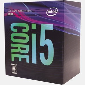 Intel Core ® ™ i5-8400 Processor (9M Cache, up to 4.00 GHz) 2.8GHz 9MB Smart Cache Box processor