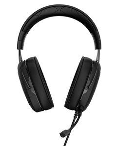 Corsair HS50 Stereofonisch Hoofdband Zwart, Koolstof hoofdtelefoon