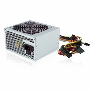 Ewent EW3900 500W ATX Zilver power supply unit
