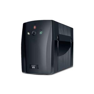 Ewent EW3941 720VA 2AC outlet(s) Toren Zwart UPS