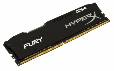 Kingston HyperX FURY Memory Black 8GB DDR4 2400MHz 8GB DDR4 2400MHz geheugenmodule