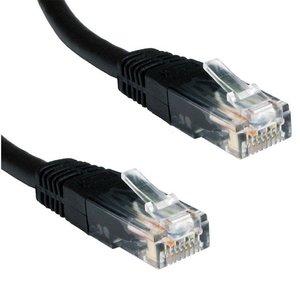 Ewent 1.0m Cat5e UTP 1m Cat5e U/UTP (UTP) Zwart netwerkkabel