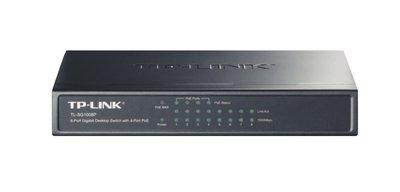 TP-LINK TL-SG1008P Gigabit Ethernet (10/100/1000) Grijs Power over Ethernet (PoE)