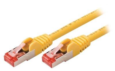 Valueline VLCP85221Y05 0.5m Cat6 S/FTP (S-STP) Geel netwerkkabel