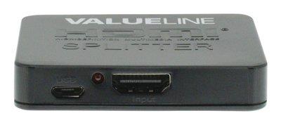 HDMI Splitter 2-poorts Zwart